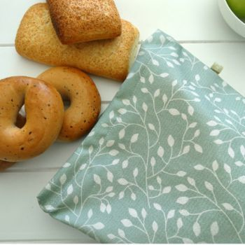 Reusable Bread Bag 4myearth Leaf 21 95