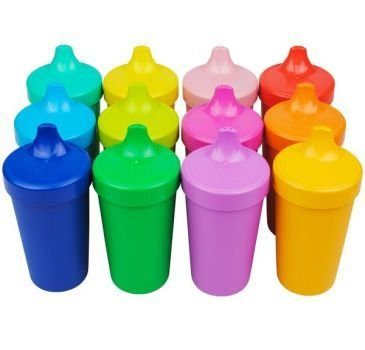 Spill-proof sippy cup