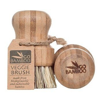 go bamboo vegetable brush