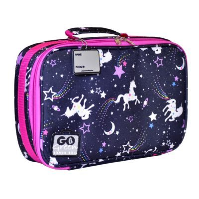 Go green insulated bag magical sky