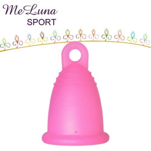 Me Luna Menstrual Cup Classic Ball/ /Blue Small