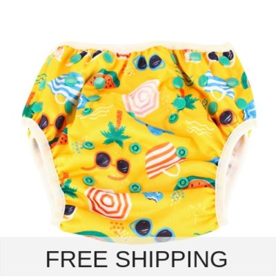 beach fun reusable swim nappy to fit baby and kids from 8-24 kg