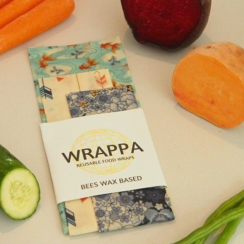 Wrappa reusable beeswax wraps