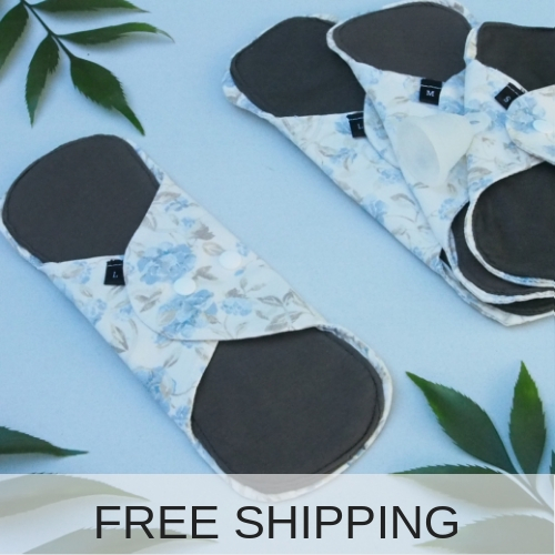 reusable cloth pads for heavy flow