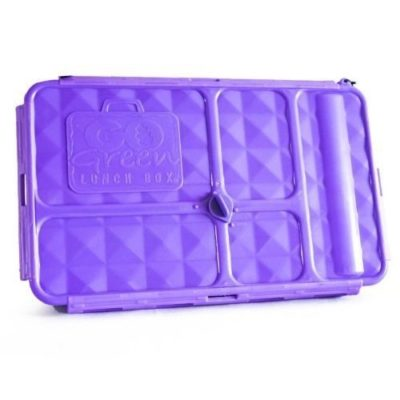 go green large lunch box for kids and adults