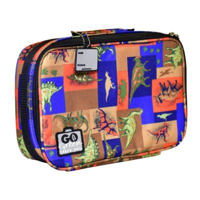 go green insulated bag dinosaurs