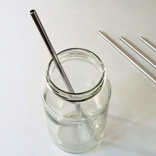 stainless steel straws straight
