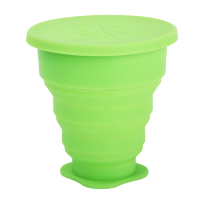 Disinfectant Menstrual Cup - Green