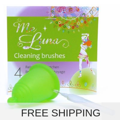 cleaning brushes menstrual cup