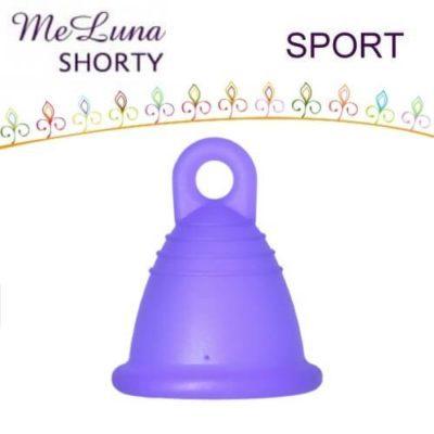 me luna menstrual cup shorty sport