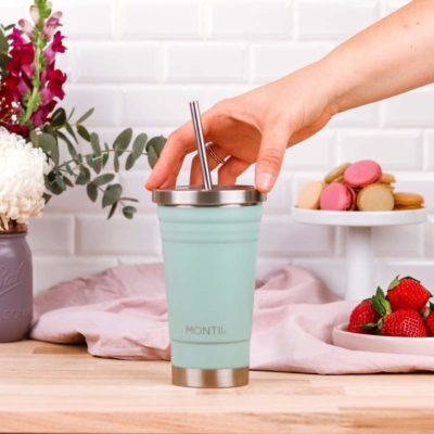 insulated stainless steel smoothie cup montii