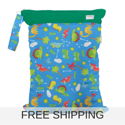 reusable wet bag for child care and swimming