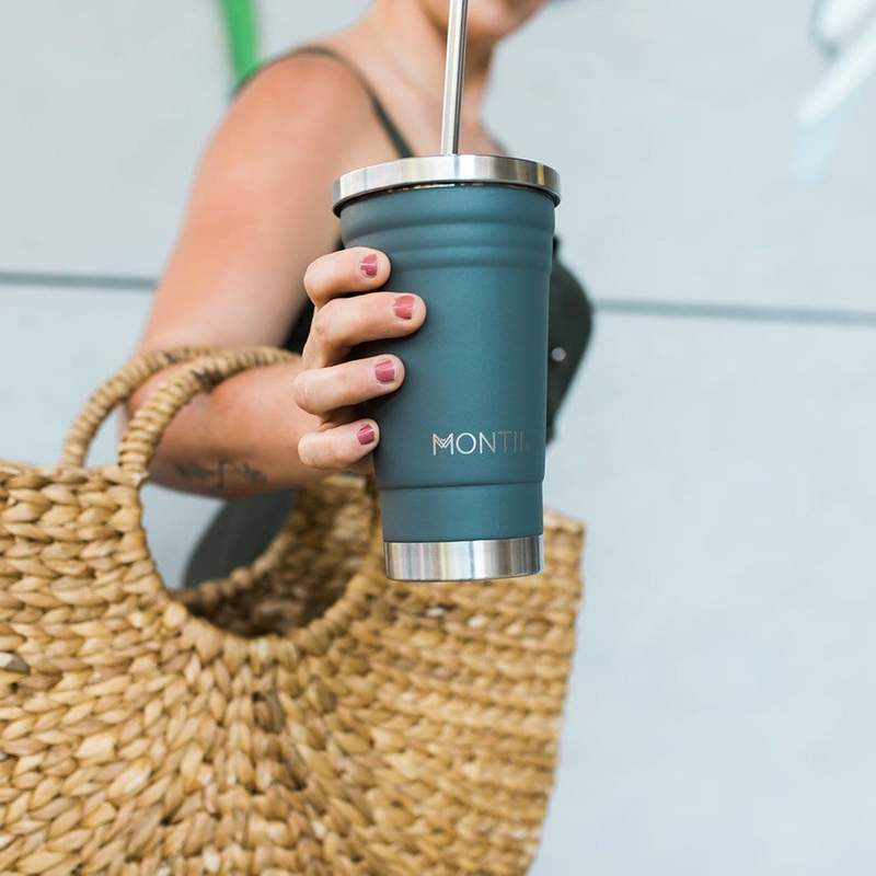 Insulated Stainless Steel Smoothie Cup Montii 450ml