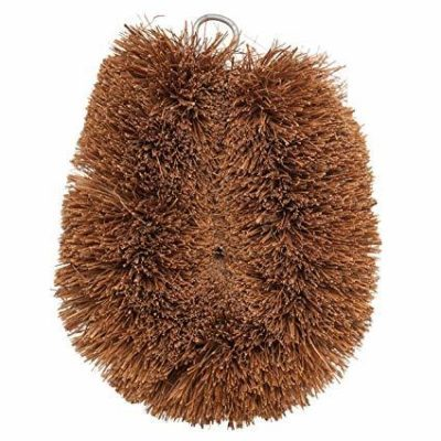 dish scrubber made from coconut fibre