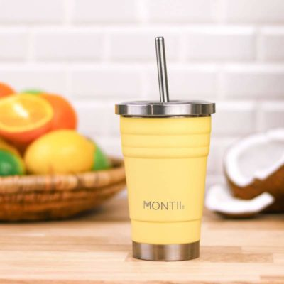 stainless steel insulated smoothie cup montii