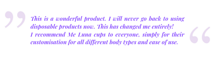 Menstrual cup review