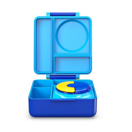 Omiebox insulated lunch box sky blue