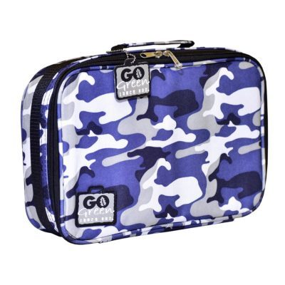 insulated bag go green camo