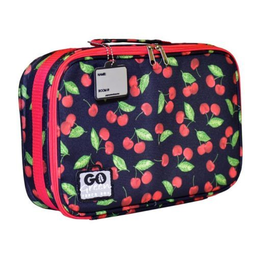 go green lunch box set cherries