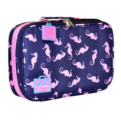 go green lunch box set seahorse