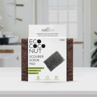 biodegradable scrub pad