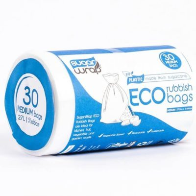 eco rubbish bags sugarwrap