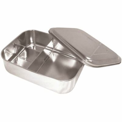 stainless steel divided lunchbox