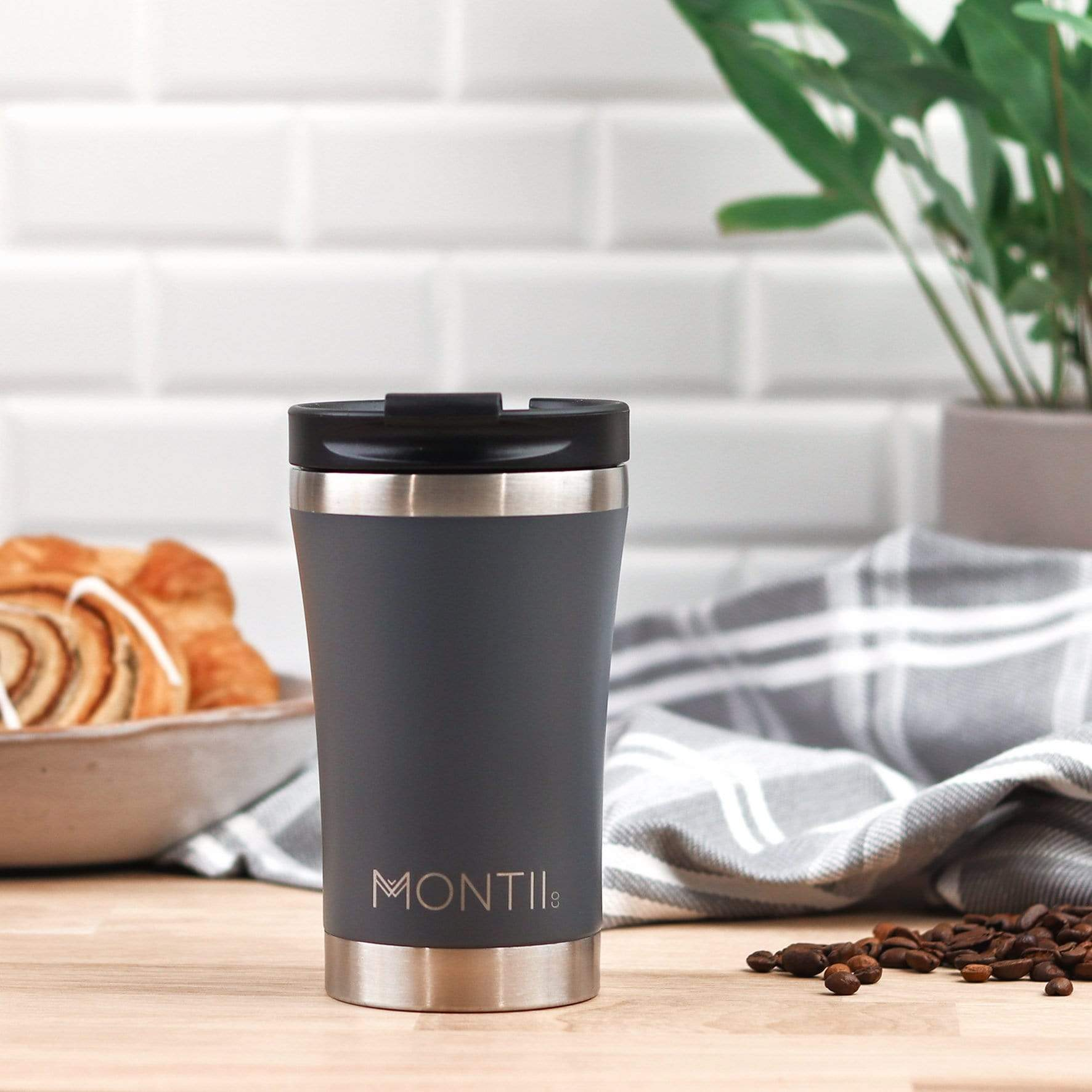 insulated stainless steel coffee cup montii