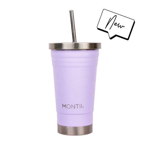 reusable stainless steel smoothie cup