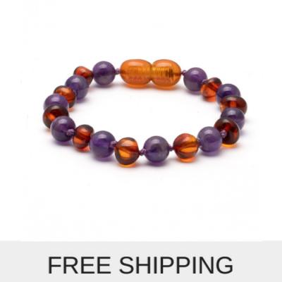 Amber Baby Bracelet /Anklet 14 cm