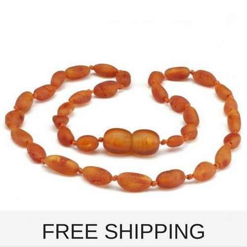 raw amber necklace kids