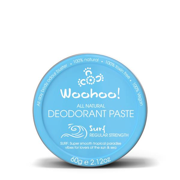 woohoo paste natural deodorant